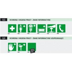 Znaki BHP- Informacyjne