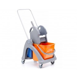 Wózek do sprzątania z tworzywa sztucznego
