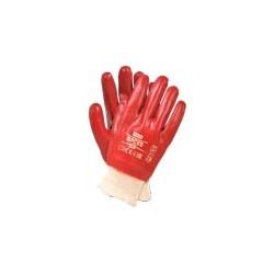 Rękawice powlekane PCV ze ściągaczem