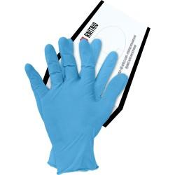 Rękawice nitrylowe cienkie RNITRIO