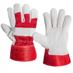 Rękawice monterskie czerwone PSW-7175NR