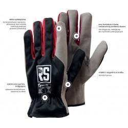 Rękawice Toper ze skóry syntetycznej