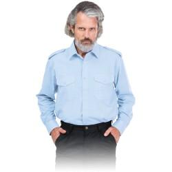 Koszula z Długim Rękawem z Pagonami